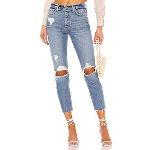 GRLFRND High Waisted Jeans